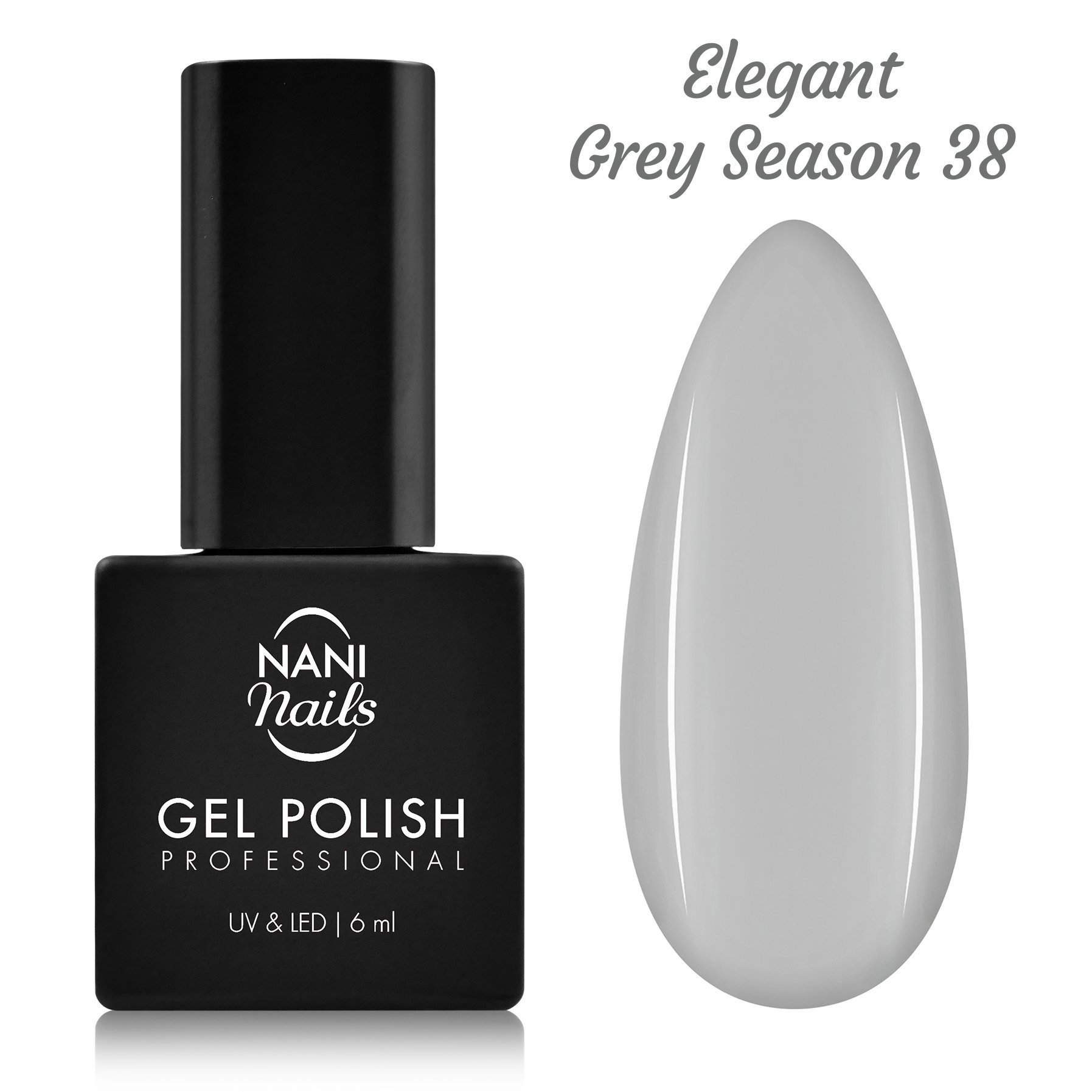 Ojă semipermanentă NANI 6 ml - Elegant Grey Season